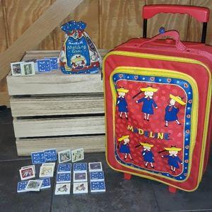 MADELINE Luggage & Game Matching Toddler girls
